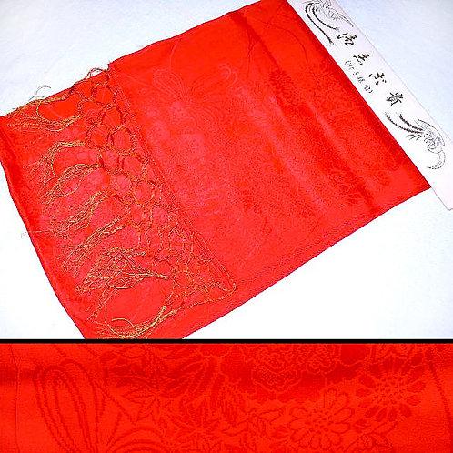 Fringed Red Silk Shigoki