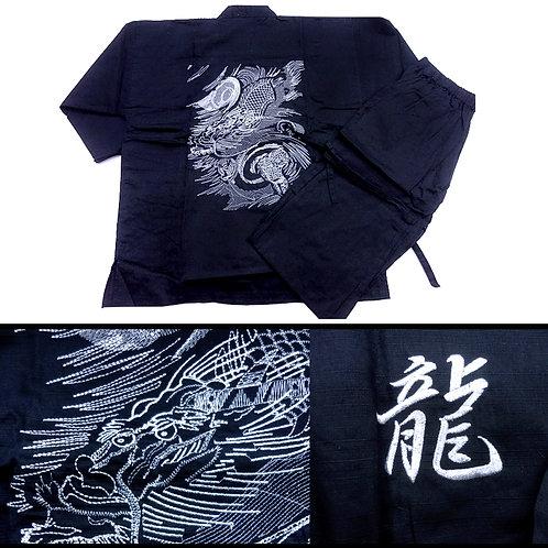 Silver Dragon Black Samue - L