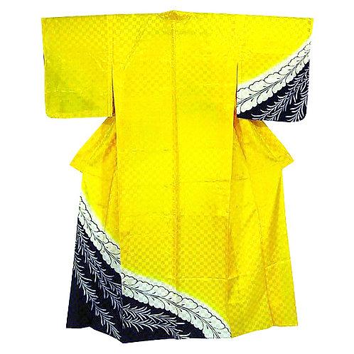 Ichimatsu Yellow Tsukesage