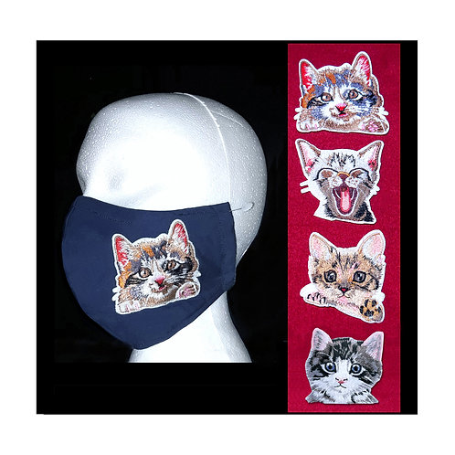 Soft Kitty - Wired Face Mask - 6 Colours