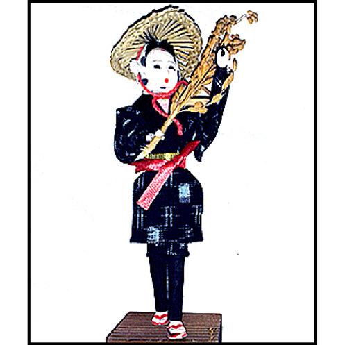 Country Girl in Kasuri