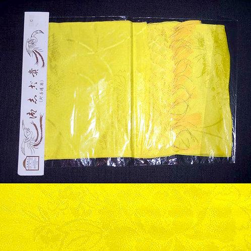 Yellow Silk Shigoki Sash