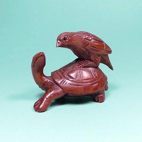 Bird & Turtle Netsuke