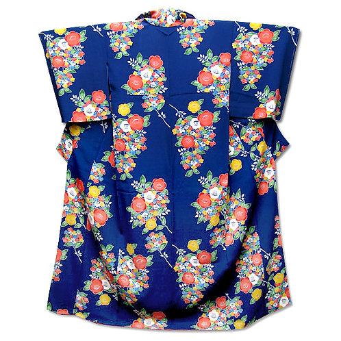 Blue Komon Kimono