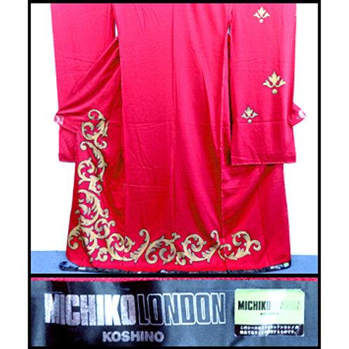 RARE Michiko Koshino Karieba Designer Kimono