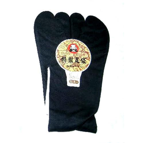 Black Cotton Tabi 25cm