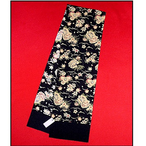 Floral Black Han Eri