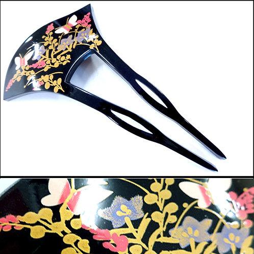 A Japanese Long Comb - Butterflies