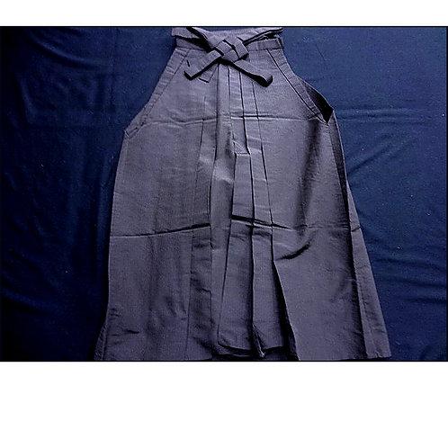 Brown Stripes Silk Hakama