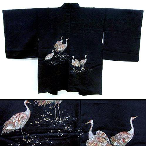 Cranes Urushi Haori