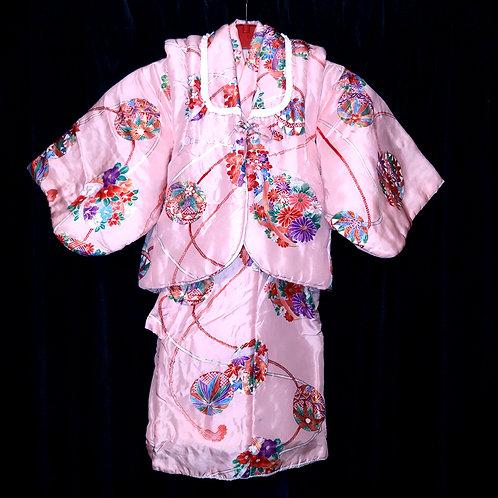 Baby's Pink Kimono & Hifu
