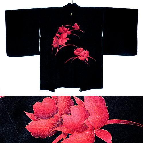 Red Orchids Haori