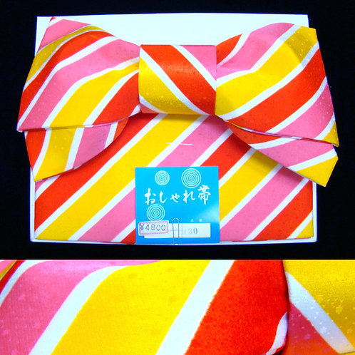 Candy Stripe Bow Obi