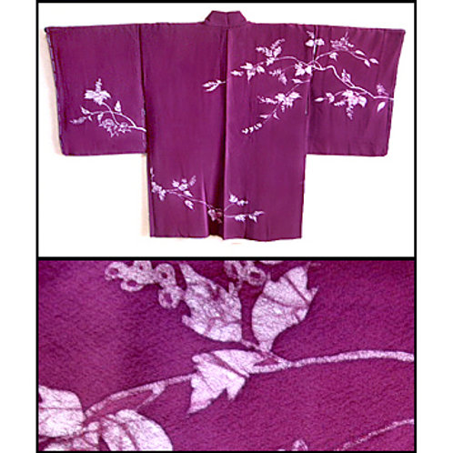 Batik Leaves Haori