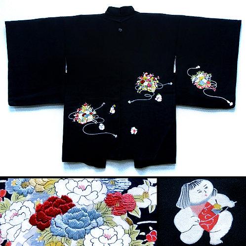 Goshgo Ningyo & Embroidered Flowers
