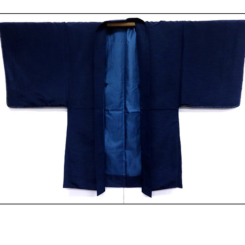 A Handsome Dark Blue Haori LLL