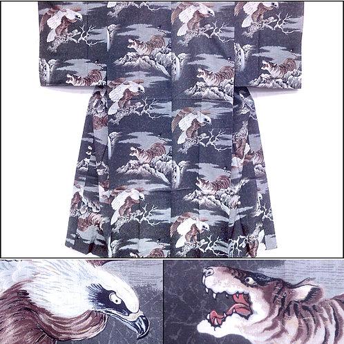 Tigers Galore Juban Kimono