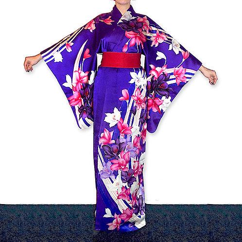 Floral Houmongi Kimono