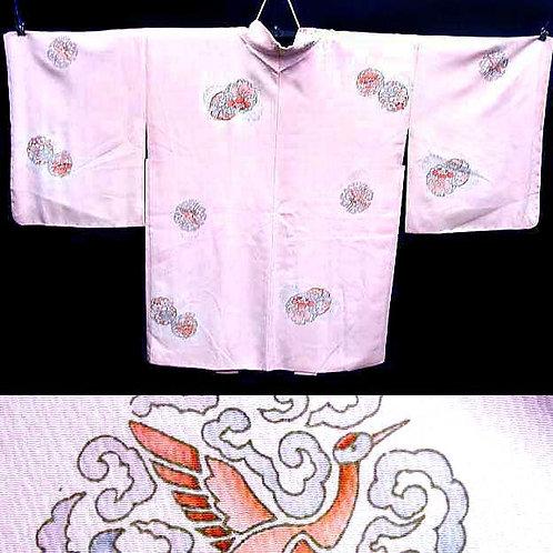 Roundels Pink Haori