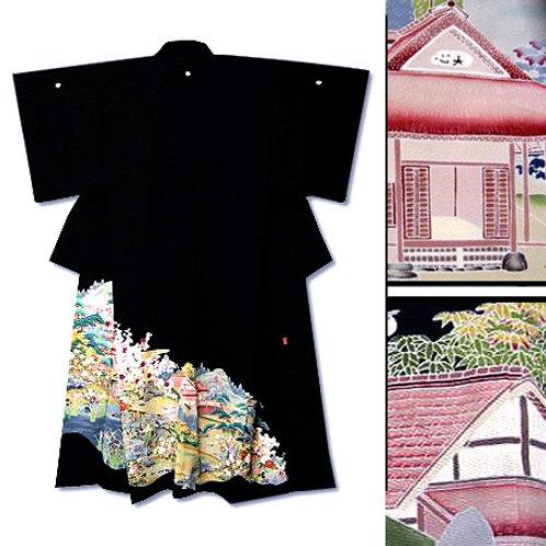 House Scene Tomesode Kimono
