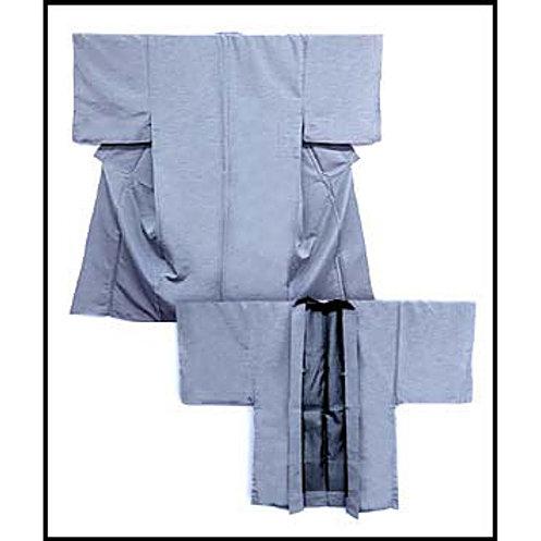 A Handsome Grey Kimono & Haori L