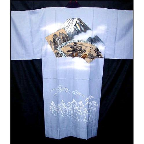 Fuji & Parchments Juban Kimono