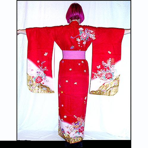 Gosho Guruma & Gold Kimono
