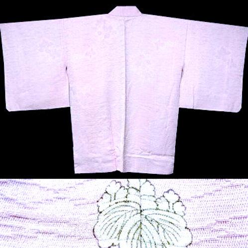Pink Silk Hitotsu Mon Haori