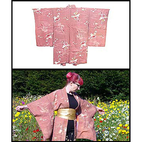 Antique Silk Haori
