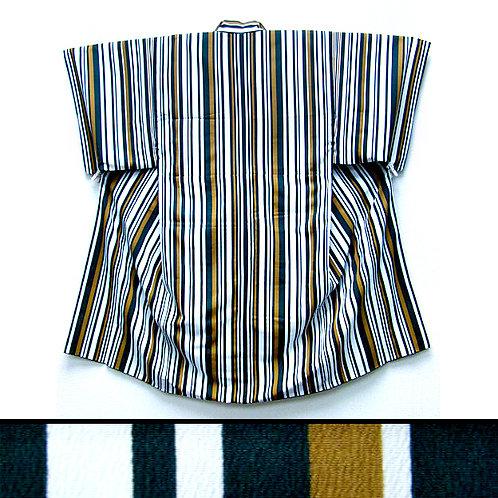 Lined Striped Kimono