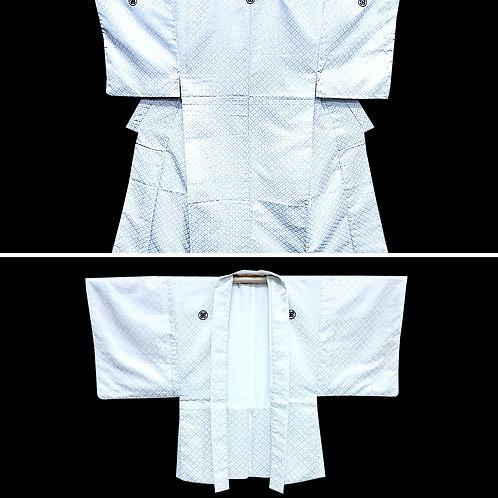 Ensemble - White Kimono & Haori