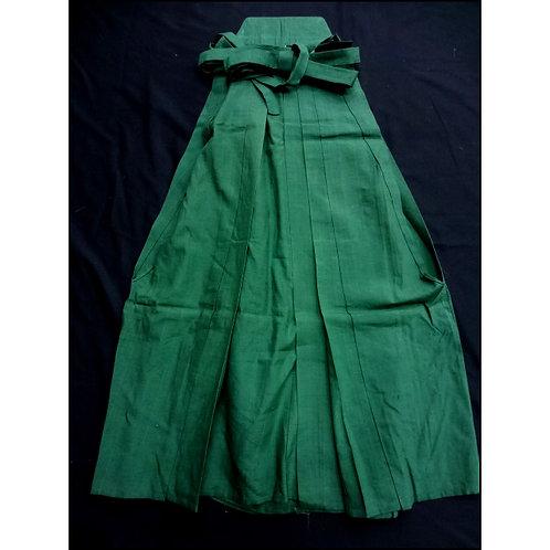 Green Silk Umanori Hakama