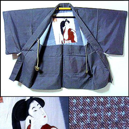 Rare Shunga Lining Haori