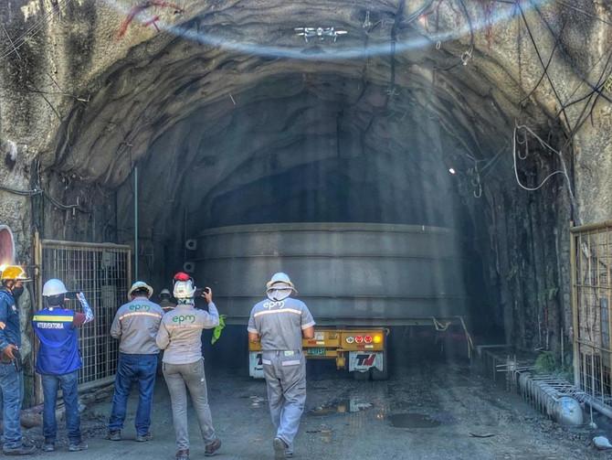 Comenzó ingreso de equipos a la casa de máquinas del proyecto hidroeléctrico Ituango