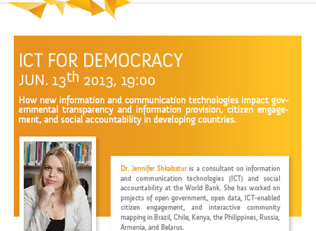 ICT for Open Government
