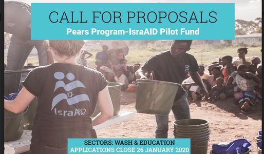 Pears Program-IsraAID pilot fund