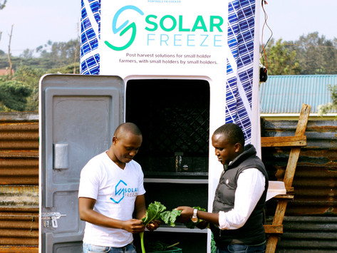 SolarFreeze: A localized durable solution to food security in Kakuma Refugee Camp