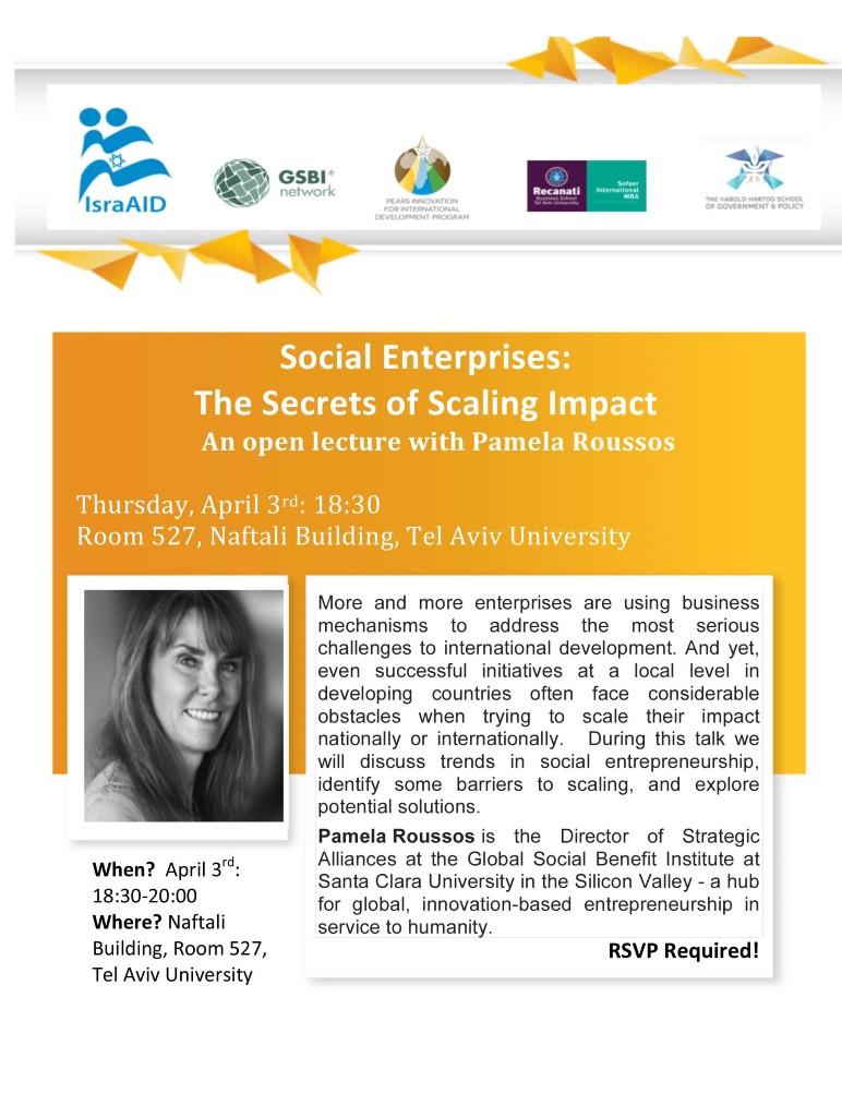 Social Enterprises Scaling Impact