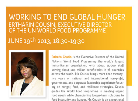 Working to End Global Hunger