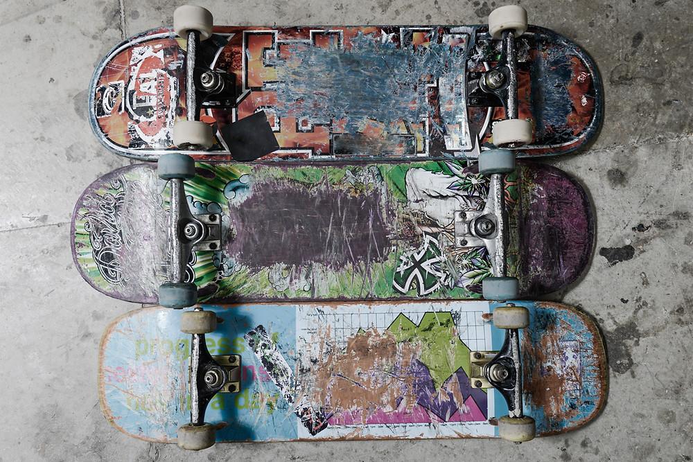 used skatebaords