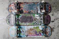 Picture of 3 Skateboards