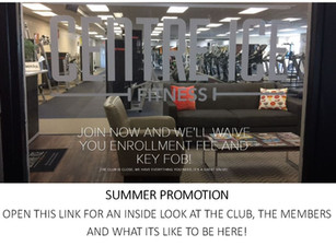 Summer Promotion and an inside look at what goes on at CIF. A new presentation of our programming an