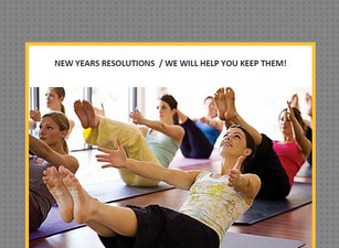 Resolutions.... we will help you keep them!