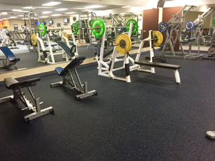 New Weight Room Flooring and Plates