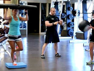 Looking for support and a push? Personalized small-group fitness. Professional instruction at group