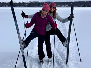 CROSS COUNTY SKI THE LAKE! It's a thing!