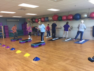 Balance & Stability plus the Functional Stability Classes are very important for Seniors!