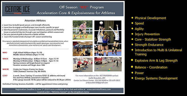 NEW ATHLETIC CONDITIONING CAMPS! Reserve you spot  Sports
