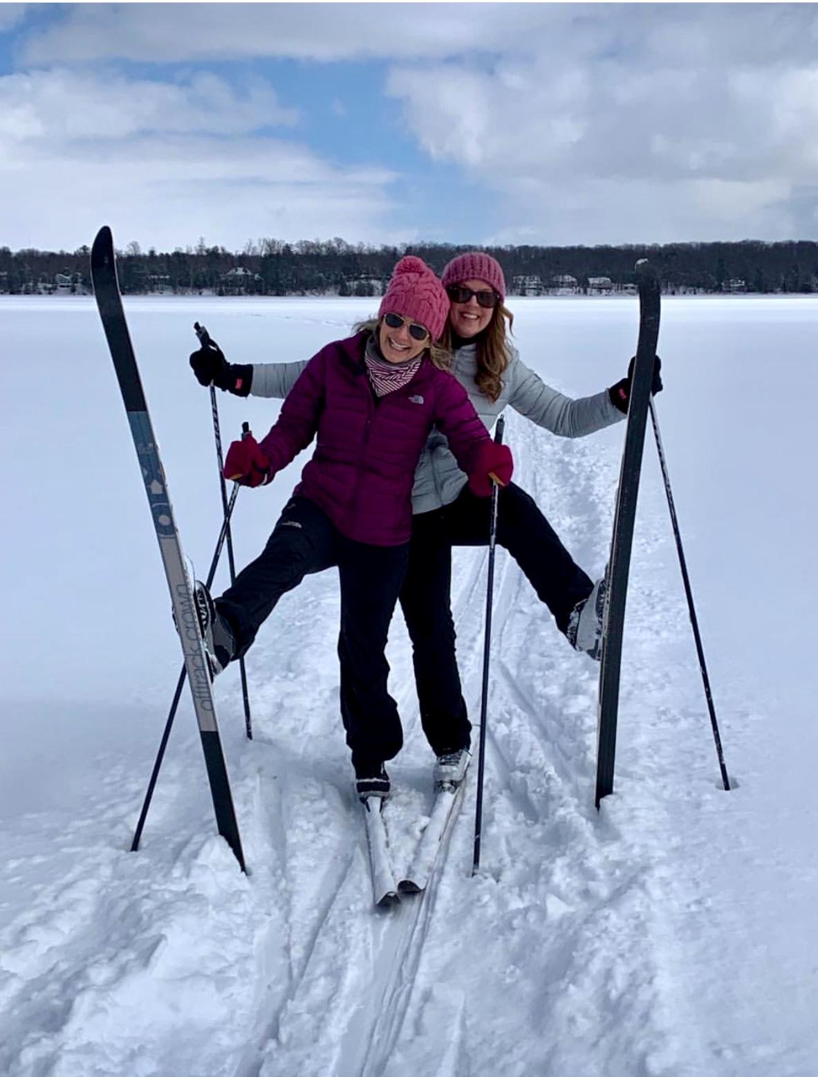 Ski long lake