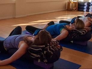NEW Restorative Yoga Class!!!!